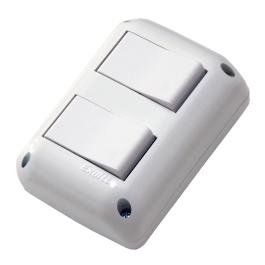 2 interruptores 2 modulos 10 AX 07602 02